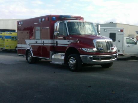 Gurnee's New Ambulance, donated by the WWFPD