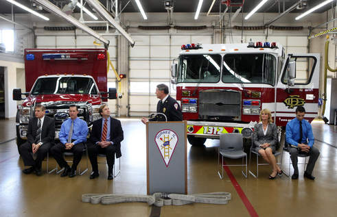 Warren-Waukegan Fire Protection District Ambulance & Fire Engine Donation
